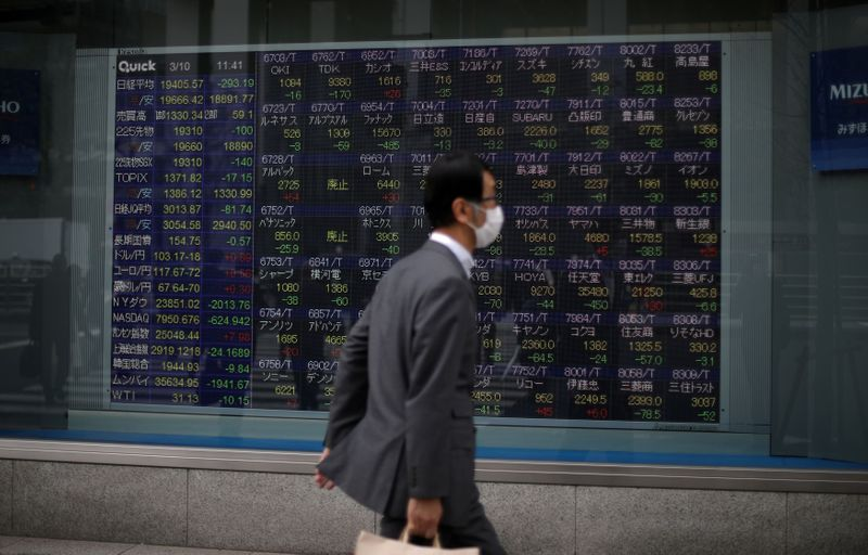 Asian stocks jump on the back of US stimulus, Japan's Nikkei index at a 29-year high by Reuters