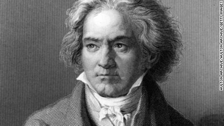 German composer and pianist Ludwig van Beethoven.