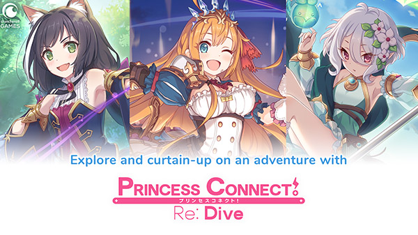 Princess Connect!  Response: Diving is now available in the West