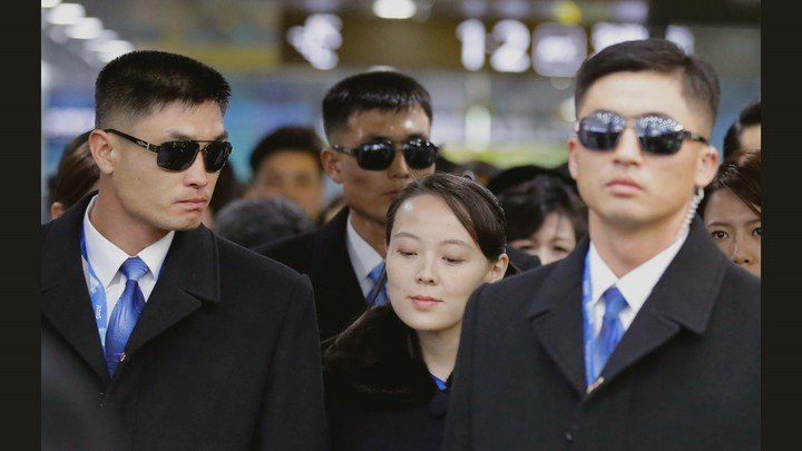 Kim Yoo Jung, sister of the North Korean leader.  Photos: Courtesy of National Geographic