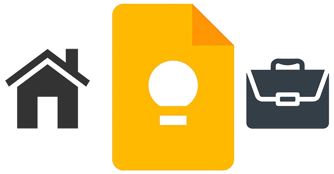 Google Keep adds 'Home' and 'Work' to schedule reminders