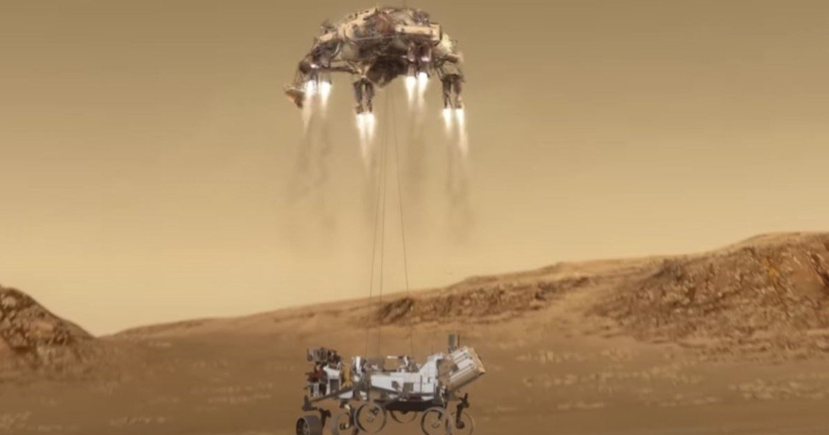 NASA and the seven minutes of terror that will pass through the perseverance to land on Mars