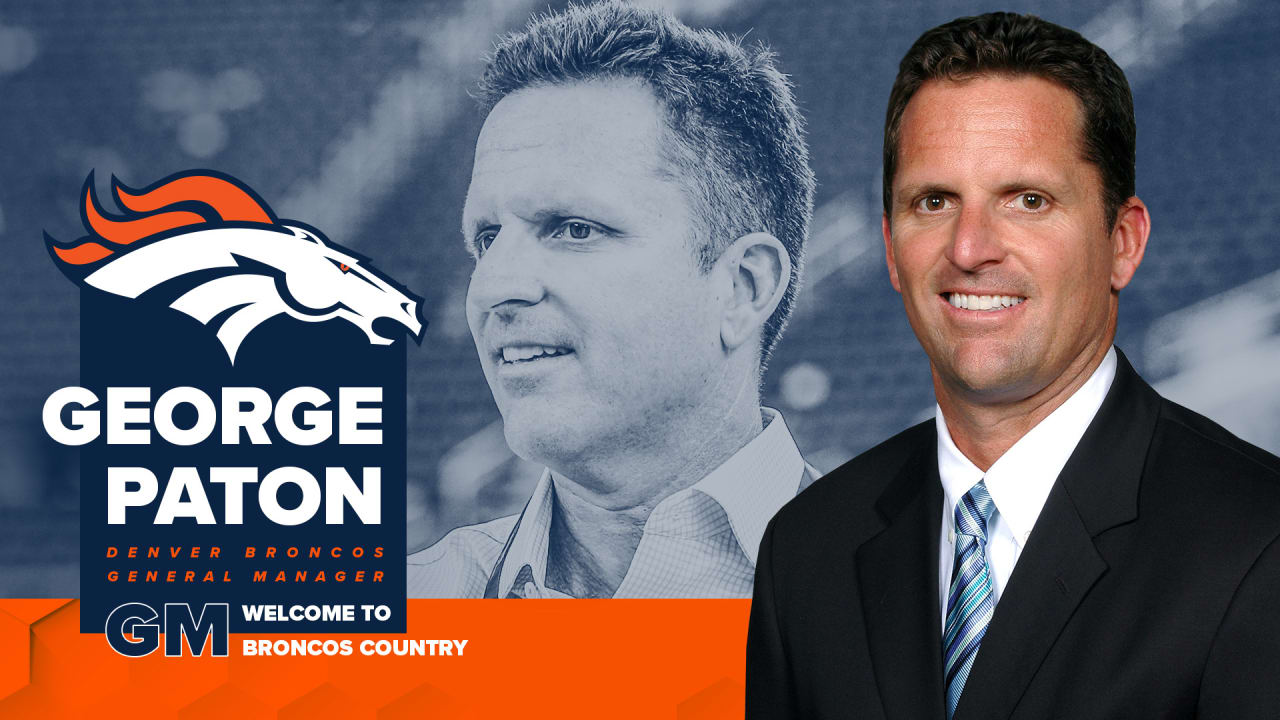 Bronco agrees to terms with George Patton to become General Manager