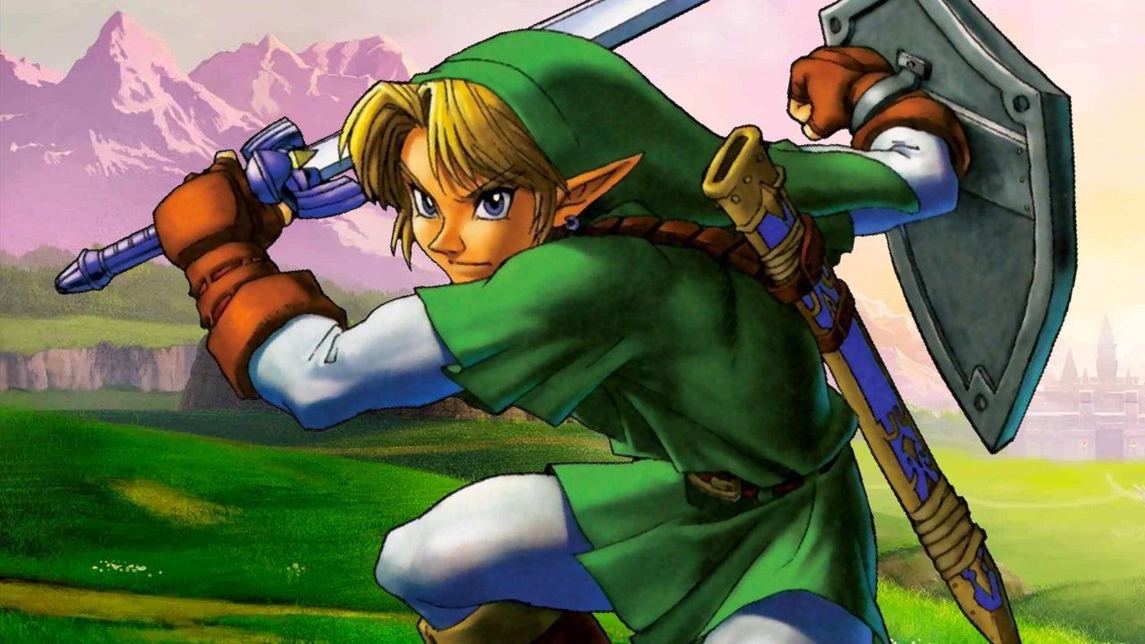 Early build for Zelda: Ocarina is found from time, which can turn into a Navi Link