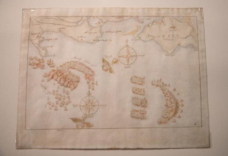 England keeps valuable Armada maps indomitable thanks to sponsorship |  What's up the news