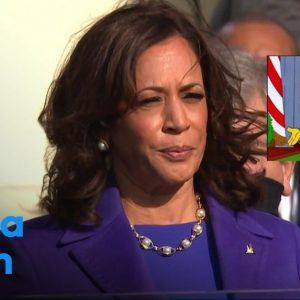 "The Simpsons ""anticipated"" Kamala Harris at the White House"