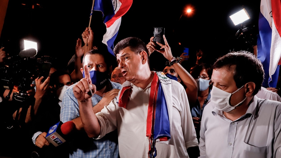 They arrested Efrine Alegre, Paraguay's opposition leader …