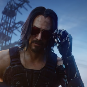 This was Johnny from Cyberpunk 2077 before Keanu Reeves played it