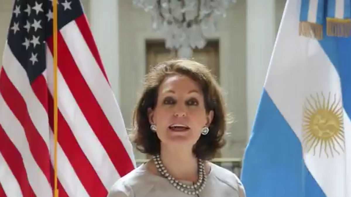 Who is the strong woman in the US embassy in Argentina