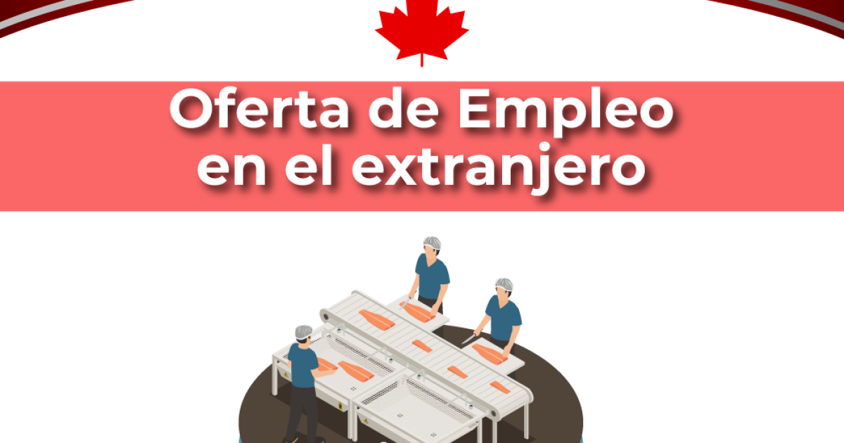 job opportunity!  Canada offers Mexicans work for a wage of 36,000 pesos a month