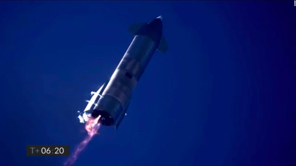How SpaceX's test missile exploded