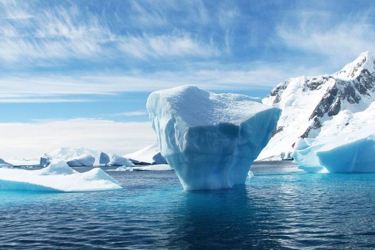 What happened to the giant iceberg that sank the Titanic?
