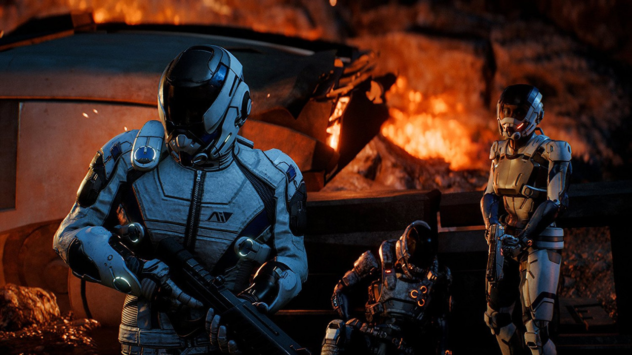 Mass Effect Andromeda can have up to 10 new races left out for budget and costume shows