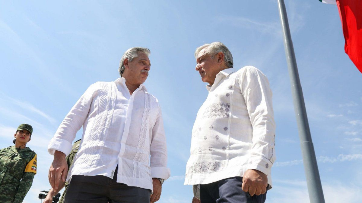 Confirmation of AMLO request for assistance in Mexico (voices missing on board)