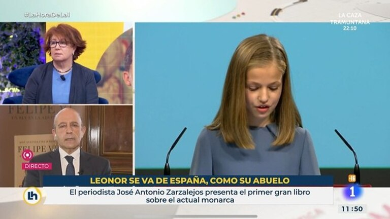 Controversy in Spain over a ridiculous public TV graphic with royal heir