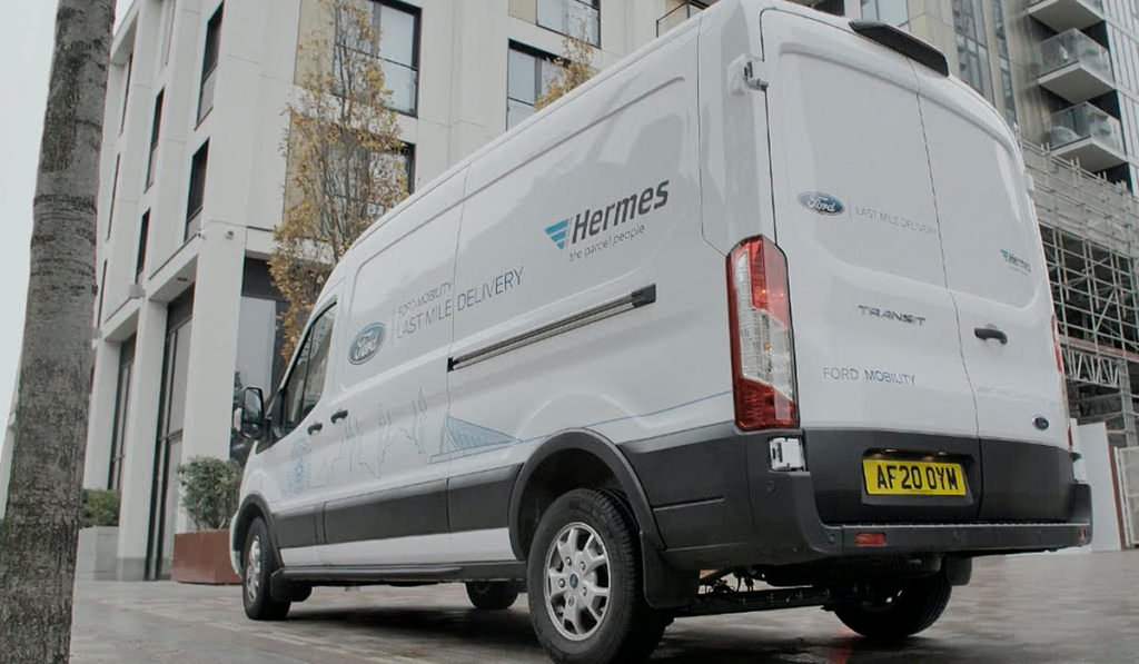 Ford and Hermes reinforce the last mile in the UK