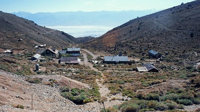 He bought a ghost town and his only plan is to live there until he dies.