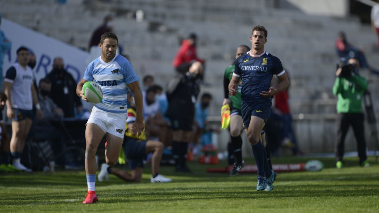 Pumas 7's debut in the Madrid Seven Championships
