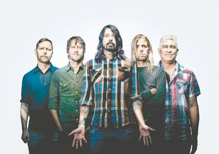 The Foo Fighters bring rock medicine to the pandemic