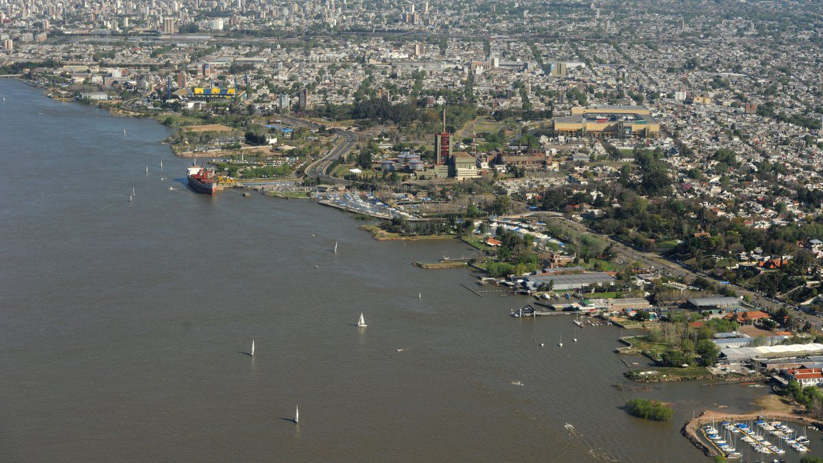 They warn that yacht clubs are modifying Paraná Bank