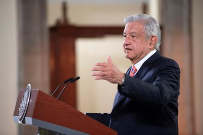 As mentioned by Jess Ramírez Cuevas, the President of Mexico emphasized that installing the fences outside the National Palace is for protection, not suppression (Photo: Presidency of Mexico)
