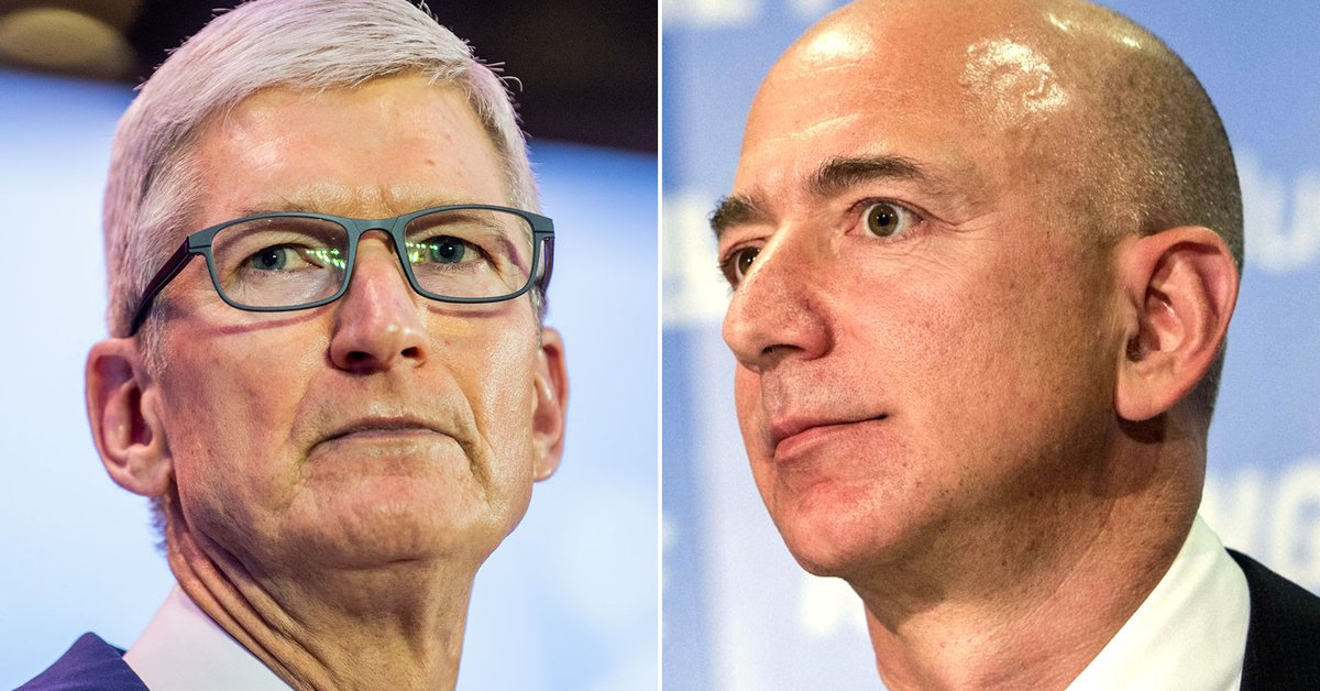 The simple approach that Tim Cook and Jeff Bezos are using to drive greater productivity at their companies