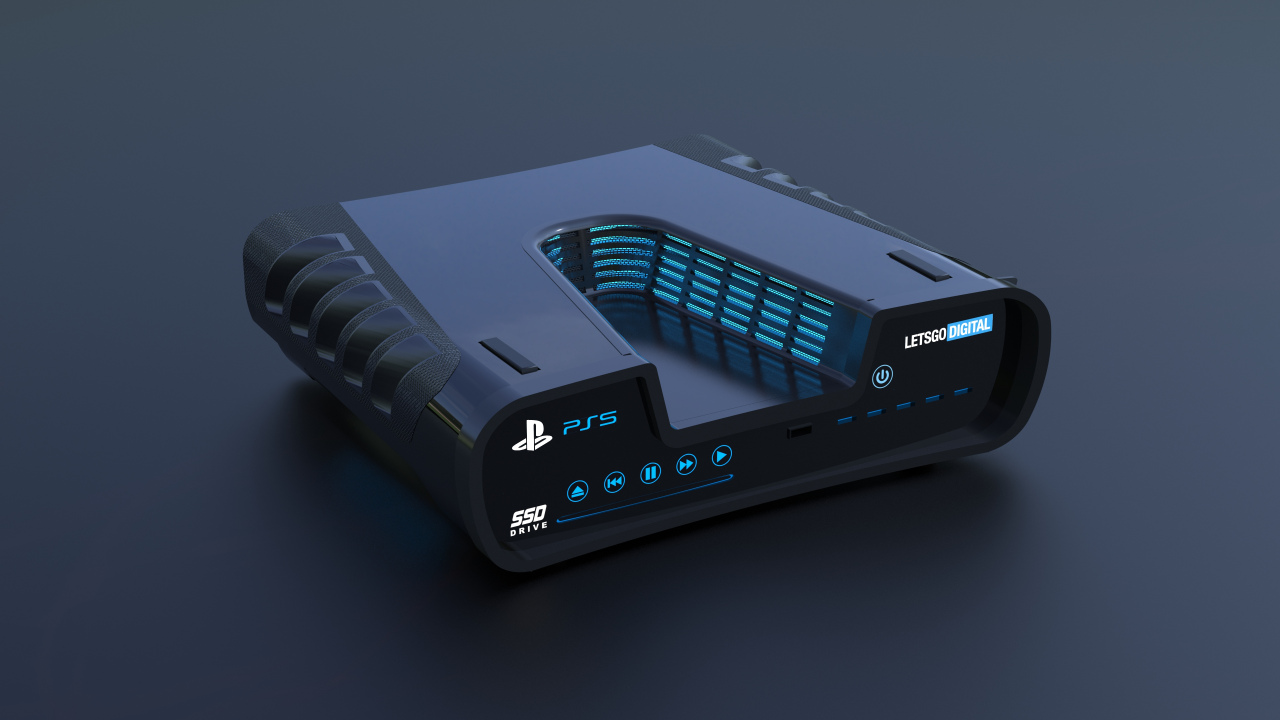 Remember the PS5 development kit in V shape?  The new images appear from different angles