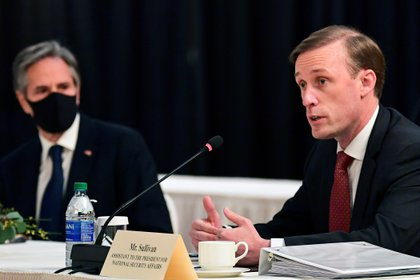 Jake Sullivan, National Security Adviser to the White House (Frederick J. Brown / Paul via Reuters)