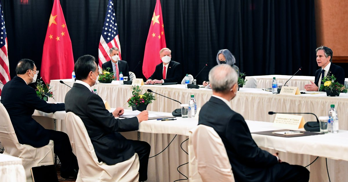 "The United States accused the Chinese regime of ""threatening"" global stability"