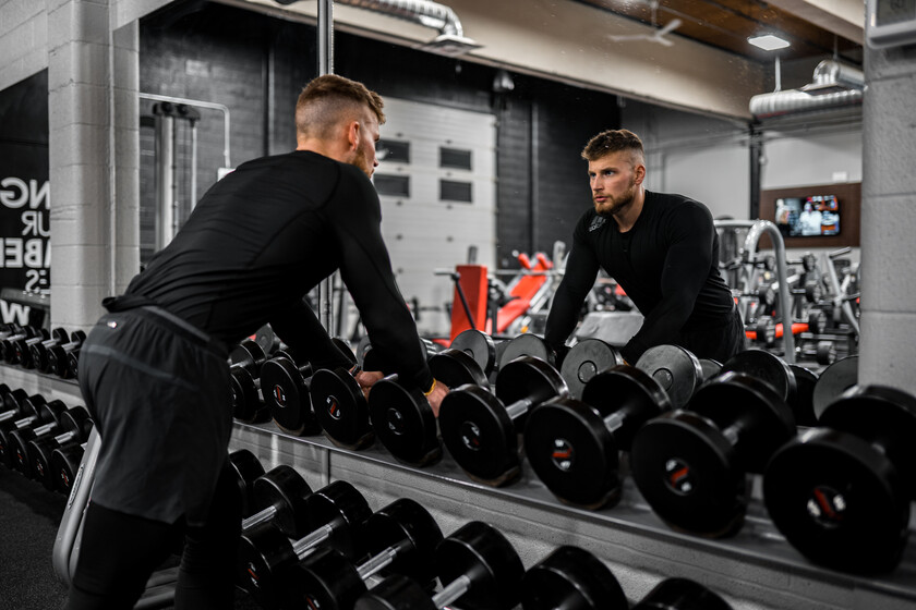 A full strength routine to do if you only have a few dumbbells