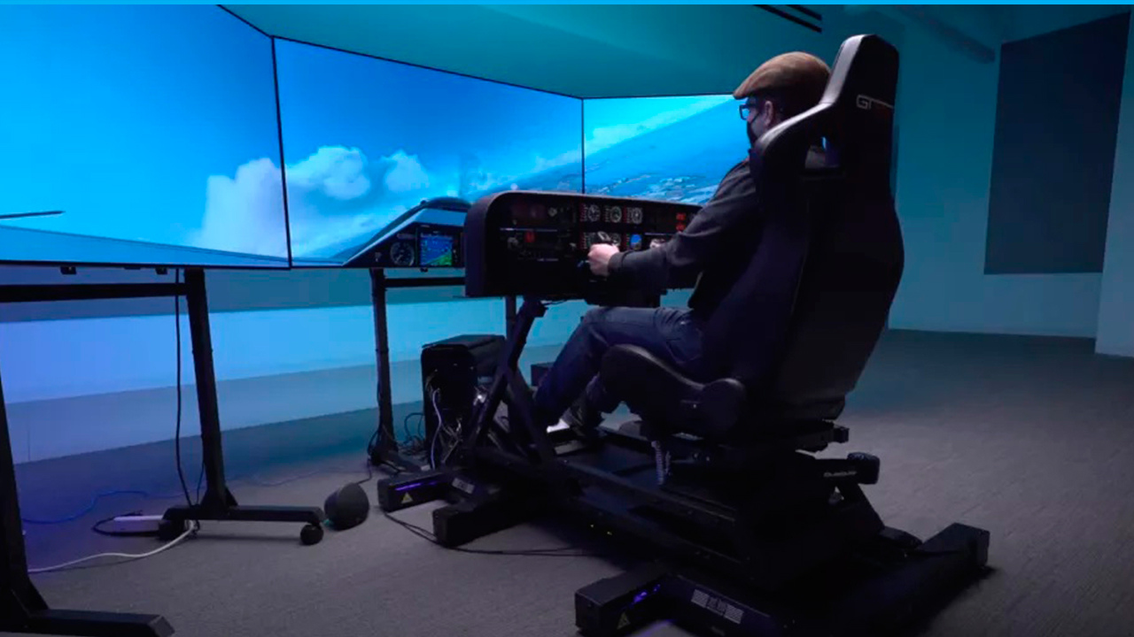 This cockpit setup costs more than a real plane