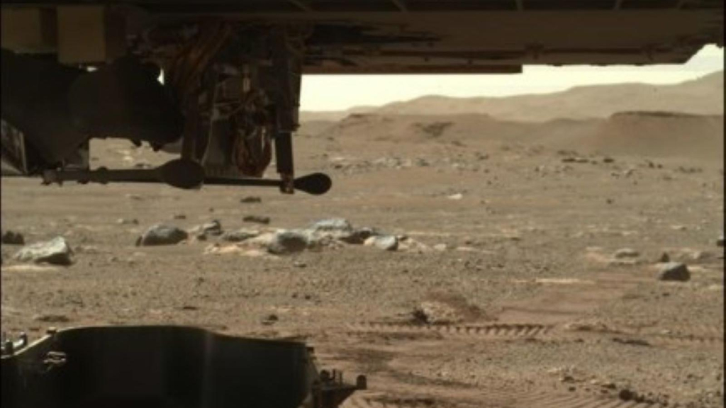 This is how the flight process begins on the planet Mars