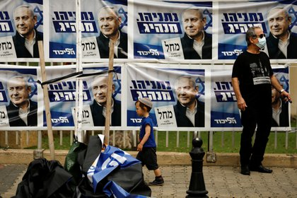 After four elections, Netanyahu seeks to form a government in Israel (Reuters / Corinna Kern)