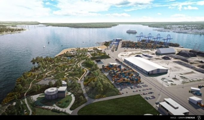 Canada: Indigenous communities support the Giant Laurentia Project in Quebec Port