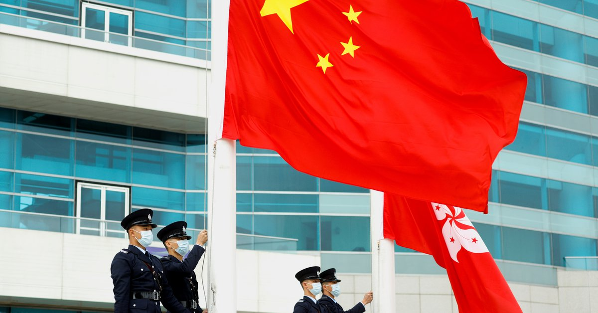 """The United States accused China of """"severely undermining Hong Kong's rights and freedoms."""""""