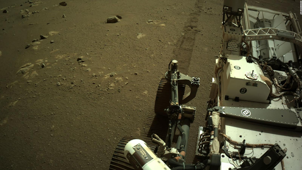 Perseverance sends out its own sounds from Mars