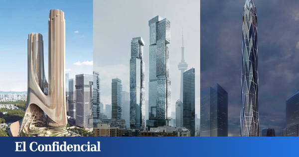Five new skyscrapers resemble science fiction