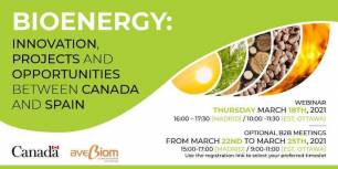 Opportunities in the bioenergy sector between Canada and Spain