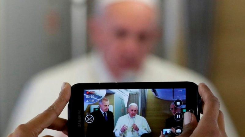 Pope Francis spoke of a possible visit to …