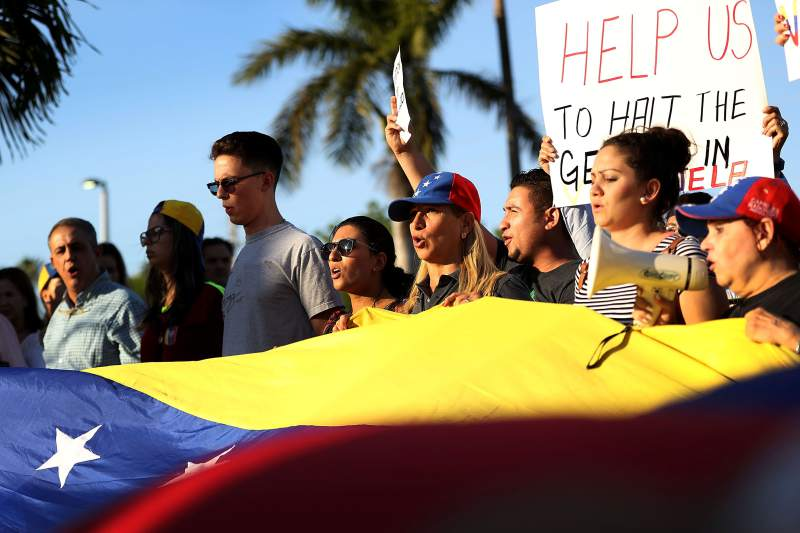 The United States grants temporary protection status to Venezuelans on its soil