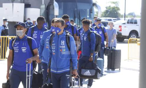 U23 departed from Honduras for Mexico to take part in the CONCACAF Olympic qualifiers