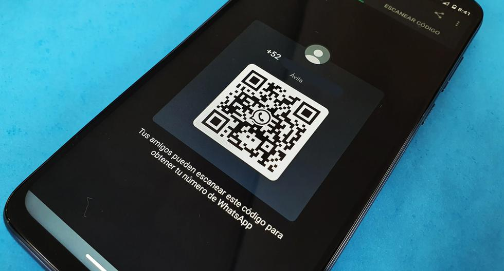 WhatsApp: Where do I find the QR code for my profile?  |  QR code |  My code |  Scan the QR code |  The trick  Steps  Mexico |  SPORTS-PLAY