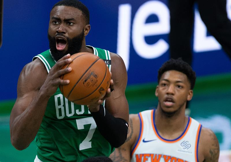 101-99.  Brown contributes twice, and Celtics complete the comeback against the Knicks  What's up