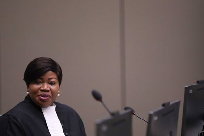 The Prosecutor of the International Criminal Court, Fatou Bensouda.  EFE / EPA / EVA PLEVIER / Archive