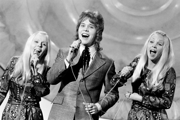 2109/098 Marco Aru represents Finland in the Eurovision Song Contest (1971)