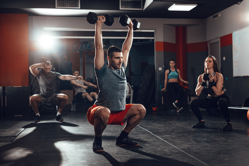 Five exercises for a complete routine