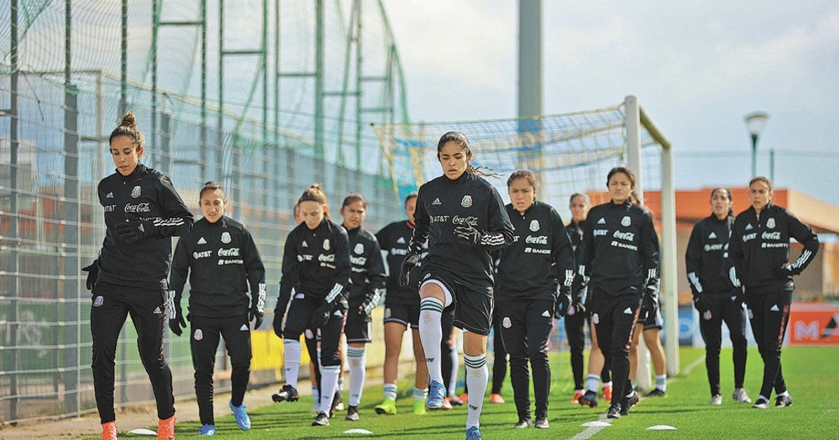 The Mexican women's national team is exploding its potential