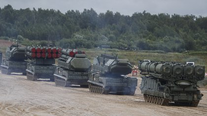 "Russia deploys its military forces ""an exercise"" On its western side (EFE / EPA / SERGEI ILNITSK / File)"