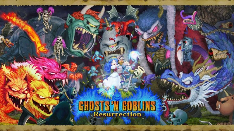 Ghosts' n Goblins Resurrection confirms release on PC, PS4 and Xbox One after going through the Nintendo Switch