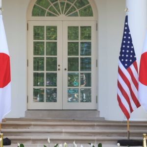 "Joe Biden announced that Japan and the United States will meet together ""the challenges posed by China."""